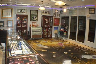 The largest and most complete retail coin showroom in the upper midwest